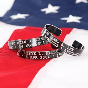 Kia Stainless Steel Or Black Aluminum Bracelet