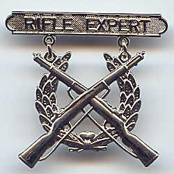 usmc expert rifleman badge
